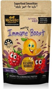Mavella Superfoods Smoothie for Kids Immune Boost Berry Taste Powder 100g