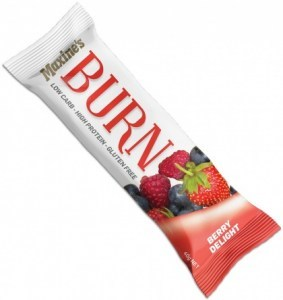 Maxine's Burn Bar Berry Delight  12x40g