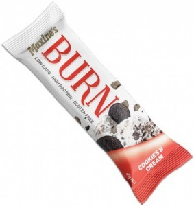 Maxine's Burn Bar Cookies & Cream  12x40g