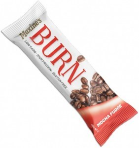 Maxine's Burn Bar Mocha Fudge  12x40g
