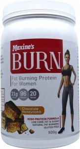 Maxine's Burn Protein Powder Chocolate Honeycomb  500g