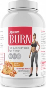 Maxine's Burn Protein Powder Salted Caramel  500g