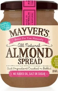 Mayvers Almond Butter Spread 240g