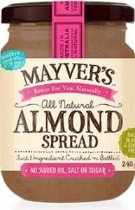 Mayvers Almond Spread  240g