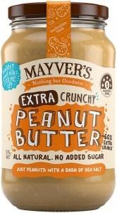 Mayvers Extra Crunchy Peanut Butter G/F 375g