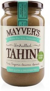 Mayvers Organic Unhulled Tahini  385gm