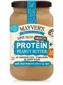 Mayvers Peanut Butter Protein Plus 375g
