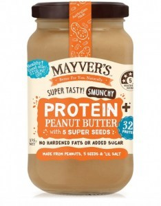 Mayvers Peanut Butter Protein Plus with 5 Seeds 375g