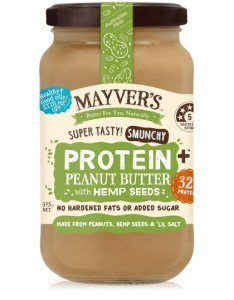 Mayvers Peanut Butter Protein Plus with Hemp 375g