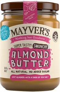 Mayvers Smunch Almond Butter  240g