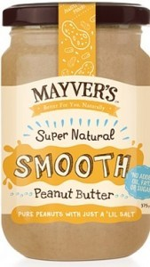 Mayvers Super Natural Smooth Peanut Butter  375g