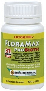 FloraMax Probiotic - 31 Billion Plus 30caps