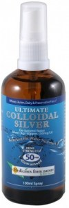 Ross Gardiner Ultimate Colloidal Silver Spray 50ppm 100ml