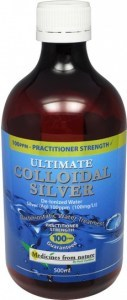Medicines From Nature Ultimate Colloidal Silver 100PPM Liquid 500ml
