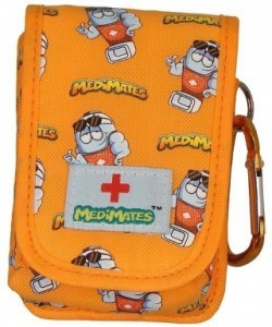 MediMates Asthma Puffer Case Orange