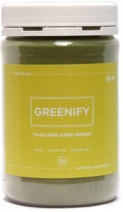 Megaburn Greenify Alkalising Super Greens 380g