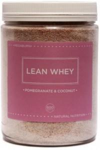 Megaburn Lean Whey Pomegranate & Coconut 600g