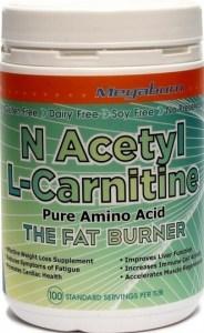 Megaburn N Acetyl L-Carnitine Powder 200g