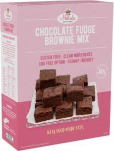 Melindas Gluten Free Chocolate Fudge Brownie 415gm