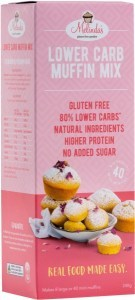 Melindas Lower Carb Muffin Mix  240g