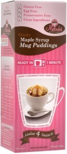 Melindas Maple Syrup Mug Pudding Pre-Mix  200g