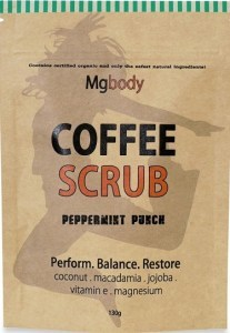 Mgbody Coffee Scrub Peppermint Punch 130g