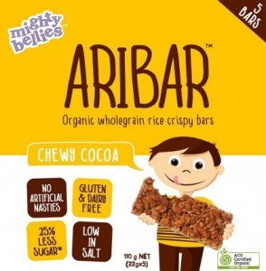Mighty Bellies Chewy Cocoa Aribar  (5x22g) 110g Pack