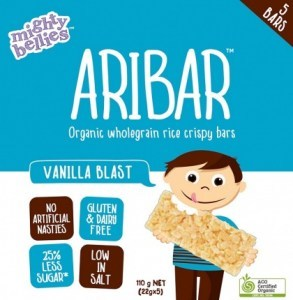 Mighty Bellies Vanilla Blast Aribar  (5x22g) 110g Pack