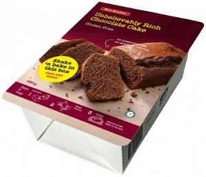 Mrs Brunt's Shake 'n Bake Unbelievably Rich Chocolate Cake G/F 450g