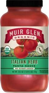 Muir Glen Organic Italian Herb Pasta Sauce 723g