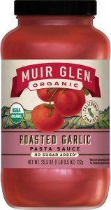 Muir Glen Organic Roasted Garlic Pasta Sauce 723g