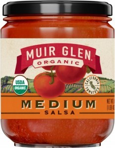 Muir Glen Organic Salsa Medium 454g
