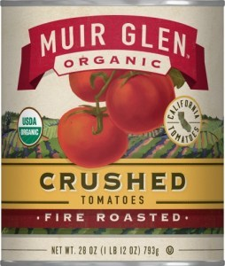 Muir Glen Organic Crushed Tomatoes Fire Roasted 794g
