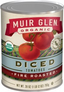 Muir Glen Organic Diced Tomatoes Fire Roasted 411g