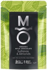 Murray River Organics Organic Chocolate Almonds & Sultanas  110g Pouch
