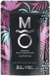 Murray River Organics Organic Chocolate Australian Sultanas  110g Pouch