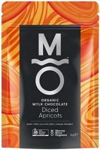 Murray River Organics Organic Chocolate Diced Apricots  110g Pouch FEB22