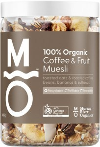 Murray River Organics Organic Coffee Fruit Muesli 400g Jar