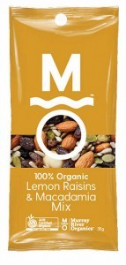 Murray River Organics Organic Lemon Delicious Trail Mix Shots 12x35g