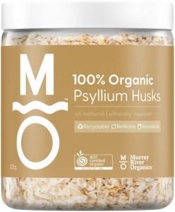 Murray River Organics Organic Psyllium Husks  225g Jar