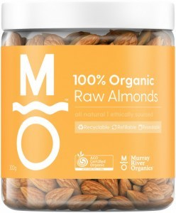 Murray River Organics Organic Raw Almond  300g Jar