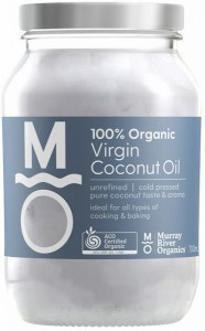 Murray River Organics Organic Virgin Coconut Oil  700ml Glass Jar