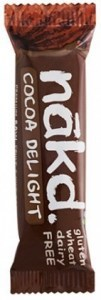 Nakd GF Cocoa Delight  Bar 18x35g