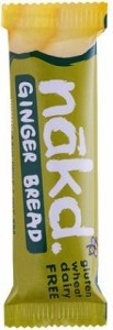 Nakd Ginger Bread Bar 18x35g