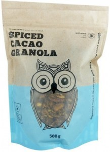 Naked Paleo Spiced Cacao Granola  500g