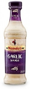 Nandos Garlic Table Sauce 250mL