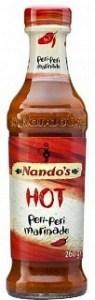 Nandos Hot Peri Peri Marinade 260g