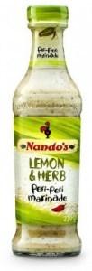Nandos Lemon Herb Peri Peri Marinade 260g