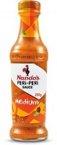 Nandos Peri Peri Sauce Medium 250g