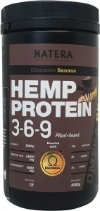Natera Hemp Protein 3-6-9 Chocolate & Banana 400g